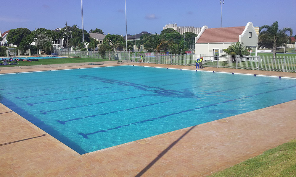 Commercial pool manufacturers in port elizabeth for Commercial pools